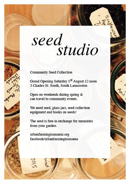 seed studio flyer